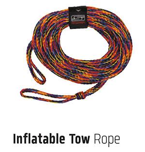 물에뜨는 견인용 로프(Inflatable Tow Rope)