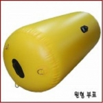 대형부표(Bouy) 크기(cm)=150*90*PVC*20m 로프